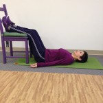 Get your legs positioned in a way they can relax completely.