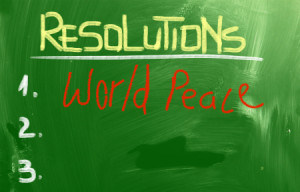 Resolutions Concept